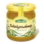 Miód eukaliptusowy Bio 500g Allos