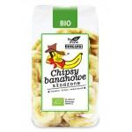 Chipsy bananowe słodzone BIO 150g Bio Planet