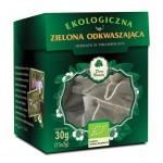 HERBATA ZIELONA ODKWASZAJĄCA PIRAMIDKI BIO (15 x 2 g) - DARY NATURY