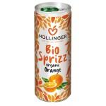 NAPÓJ GAZOWANY POMARAŃCZOWY BIO 250 ml (PUSZKA) - HOLLINGER
