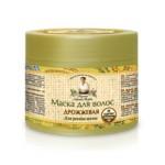 Maska do włosów drożdżowa - pobudzająca do wzrostu 300 ml Receptury Babci Agafi