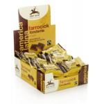 Herbatniki orkiszowe gorzka czekolada BIO 28g Alce Nero