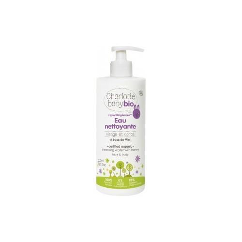 Hipoalergiczny tonik do oczyszczania twarzy i ciała na bazie miodu 500ml Charlotte Baby Bio