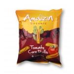 Chipsy kukurydziane Rolls o smaku pomidora 100g Bio Amaizin