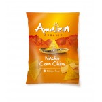 Chipsy Nachos kukurydziane serowe BIO 150g Amaizin