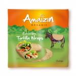 Tortilla Wraps źródło błonnika pokarmowego 240g BIO Amaizin