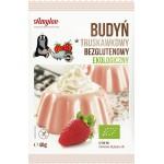 Budyń truskawkowy bezglutenowy BIO 40g Amylon