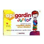 Api Gardin Junior – pastylki do ssania z Propolisem Miodem Cytryną i witaminą C