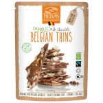 Kawałki czekolady mlecznej z migdałami i kokosem BIO 120g Belvas