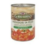 Pomidory krojone bez skóry puszka  BIO 400g BIO Idea