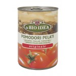 Pomidory Pelati bez skóry w puszce BIO 400 g BIO Idea