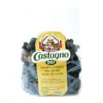 Makaron z czarnego ryżu muszelki 250g BIO Castagno