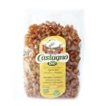 Makaron z pszenicy Durum z Quinoa z pomidorami i bakłażanem kolanka 500g BIO Castagno