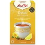 Herbata Detox z cytryną 17x1,8g Yogi Tea
