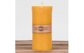 Świeca woskowa walec duży (132 mm / 70 mm) Łysoń