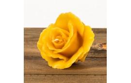 Świeca woskowa róża (45 mm / 80 mm) Łysoń