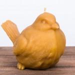 Świeca woskowa ptak duży Łysoń