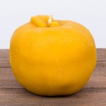 Świeca woskowa jabłko duże Łysoń