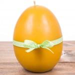 Świeca wielkanocna jajko gładkie duże Łysoń