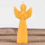Świeca woskowa anioł Łysoń