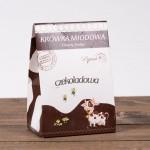 Krówka miodowa kakaowa 120g Łysoń