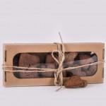Pierniczki miodowe razowe serduszka 150g natural Łysoń