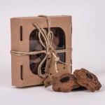 Pierniczki miodowe razowe z żurawiną 100g natural Łysoń