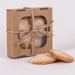Ciasteczka miodowe 100g natural Łysoń