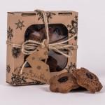 Pierniczki miodowe razowe z żurawiną 100g christmas Łysoń