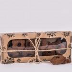 Pierniczki miodowe razowe z żurawiną 150g christmas Łysoń