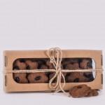 Pierniczki miodowe razowe z żurawiną 150g natural Łysoń