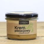 Krem pistacjowy z pyłkiem pszczelim 200g Łysoń