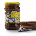 Miód kremowany waniliowo-czekoladowy 400g Pasieka Dębowa