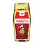 SYROP Z AGAWY Z CHLOROFILEM BEZGLUTENOWY BIO 350 g (250 ml) - BIO PLANET