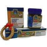 Świąteczny zestaw: Miód Manuka MGO 400+ 250g + pasta Manuka + Cukierki manuka.