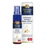 Spray doustny z Miodem Manuka MGO 400+ i Propolisem BIO 30 20ml Manuka Health