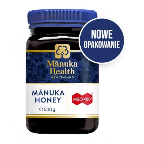 Miód Manuka MGO 400 500g Manuka Health