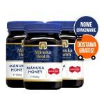 Zestaw 3 x Miód Manuka MGO 550+ 500g Manuka Health
