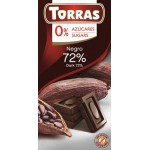 Czekolada gorzka 100 g Stevia Torras