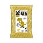 Chrupki kukurydziane Dinozaury o smaku serowym BEZGL. BIO 4x15 g