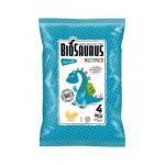 Chrupki kukurydziane Dinozaury z solą morską BEZGL. BIO 4x15 g
