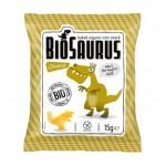 Chrupki kukurydziane Dinozaury o smaku serowym BEZGL. BIO 15 g BioSaurus