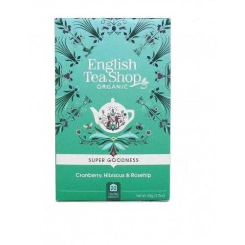 Herbatka ziołowa z hibiskusa z owocem dzikiej róży (20x1,75) BIO 35 g