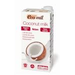Napój kokosowy niesłodzony BIO 1L Ecomil