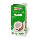 Napój kokosowy słodzony syropem z agawy BIO 1L Ecomil