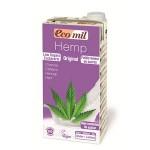 Napój z konopii słodzony agawą BIO 1L Ecomil