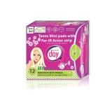 Podpaski higieniczne Mini z paskiem anionowym12 szt. Gentle Day