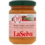 Pesto pomidorowe z serem ricotta - Pesto Rosso con Ricotta BIO 130g LaSelva