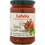 Sos pomidorowy z kaparami BIO 280g LaSelva
