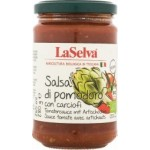 Sos pomidorowy z karczochami BIO 280g LaSelva